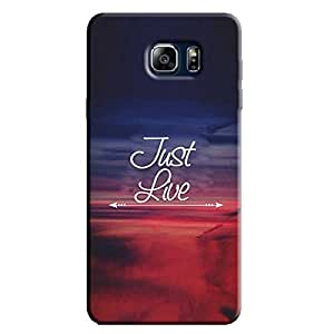 JUST LIVE ARROR BACK COVER FOR SAMSUNG GALAXY NOTE 5