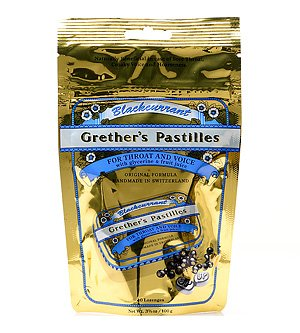 Blackcurrant 3.4 Oz By Grether'S Pastilles