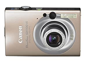 Canon PowerShot SD1100IS 8MP Digital Camera with 3x Optical Image Stabilized Zoom (Gold)