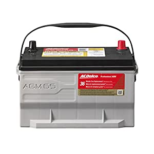 ACDelco 65AGM Professional AGM Automotive BCI Group 65 Battery