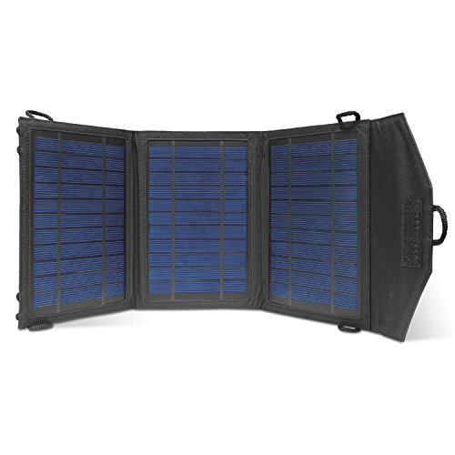 Instapark® 10 Watt Solar Panel Portable Solar Charger with Dual USB Ports for iPhone, iPad & all other USB Compatible Devices Ad Panels