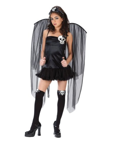Teen -Costume Skull Fairy Teen Halloween Costume - Teen 0-9