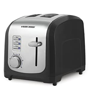 Black & Decker T2030 850-Watt 2-Slice Toaster