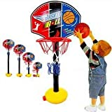 Adjustable Toy Basketball Set for Kids Little Tikes Baby Children - Net Hoop EasyScore Sports Train Equipment