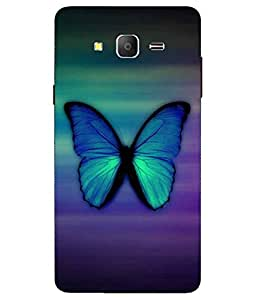 Case Cover Butterfly Printed Colorful Soft Back Cover For Samsung Galaxy On7