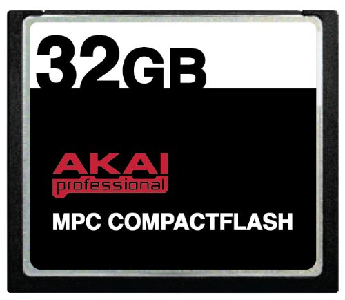 32GB Akai MPC CompactFlash CF Memory Card for MPC500, MPC1000, MPC2500 and MPC5000