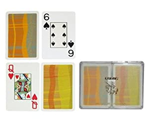 Copag Silver Series Bridge Size Playing Cards (Geometric)