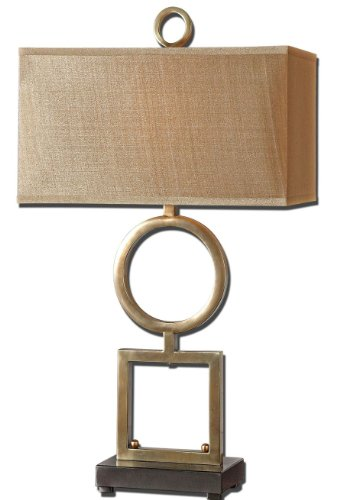 Uttermost Rashawn Coffee Bronze Table Lamp
