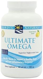 Nordic Naturals - Ultimate Omega, 1000 mg, 180 softgels