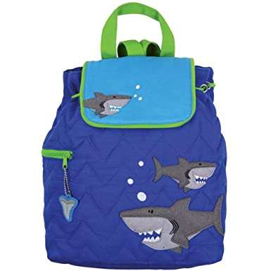 Stephen Joseph Shark Quilted Backpack