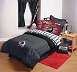 Colorado Avalanche NHL Hockey Twin Sheet Set at Amazon.com