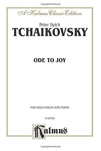Ode to Joy: Satb Divisi with Satb Soli (Russian Language Edition) (Kalmus Edition)