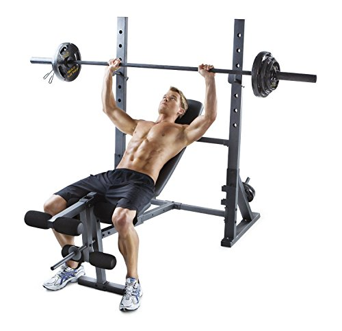Adjustable Olympic Bench Home Gym Equipment Workout