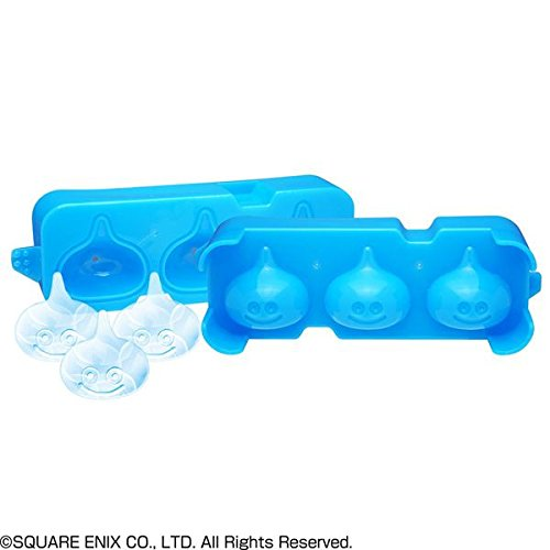 【 SQUARE ENIX / スクウェア エニックス 】  スライムの形の氷ができる! スマイル スライム アイストレー 製氷皿