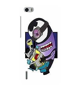 EPICCASE Minion Batman Mobile Back Case Cover For Huawei Honor 6 (Designer Case)