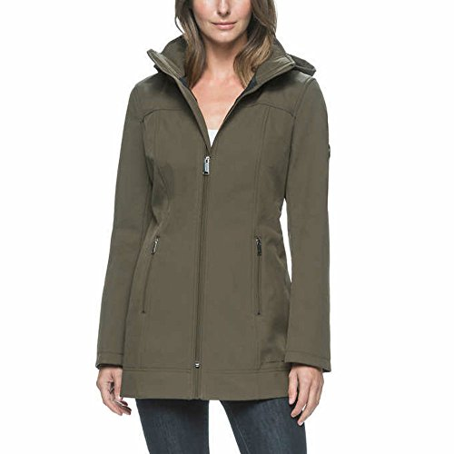 andrew-marc-ladies-long-softshell-jacket-large-green