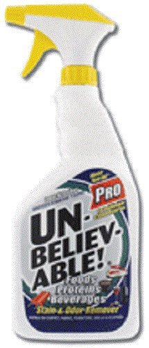 Unbelievable! Pro Stain & Odor Remover, Quart