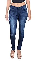 Blinkin Distressed SlimFit Jeans For Women