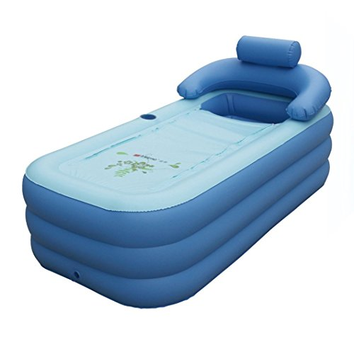 MiniShop Foldable Inflatable Thick Warm Adults' Bathtub Children'S Inflatable Pool Yt-038 (A)