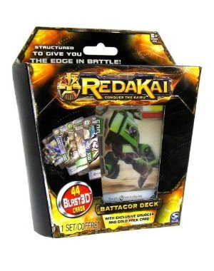 Redakai Card Game Battacor Structure Deck 44 Cards