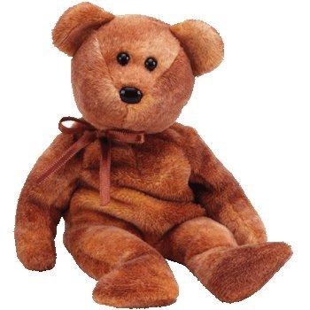 Ty Beanie Babies Grizzwald - Bear - 1
