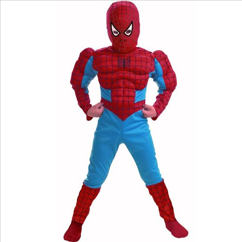 Disguise DI5766-S Spider Man Deluxe Muscle Torso Child Costume Size Small