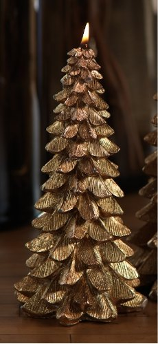 Gold Christmas Tree Candleby Zodax