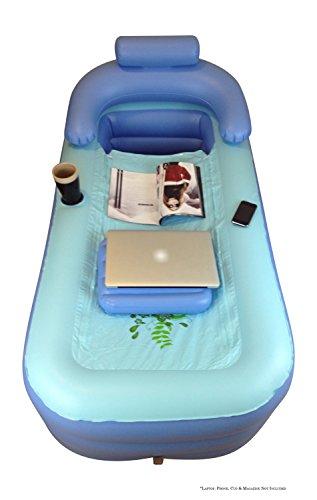inflatable bath tub adult bathtub upgraded pump x long. Black Bedroom Furniture Sets. Home Design Ideas