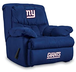NFL New York Giants Home Team Microfiber Recliner by Imperial