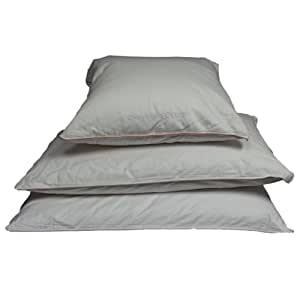 Charter Club Vail White Goose Down Standard Pillow Medium Support
