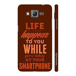 Enthopia Designer Hardshell Case Leave Your Phone Back Cover for Samsung Galaxy J7