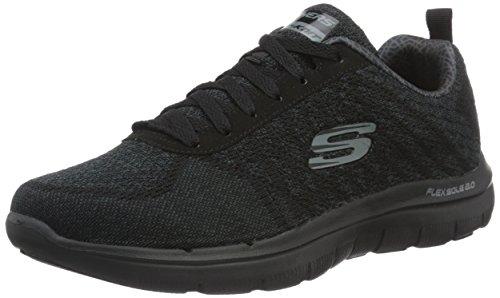 skechers-men-flex-advantage-20-golden-point-low-top-sneakers-black-bbk-black-9-uk-43-eu