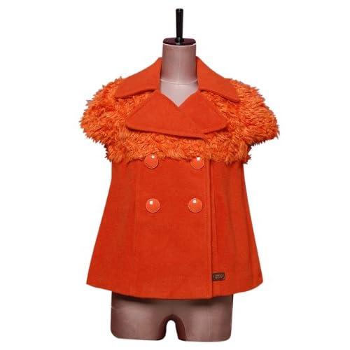 (ミスシックスティ) miss sixty オレンジベストジャケット