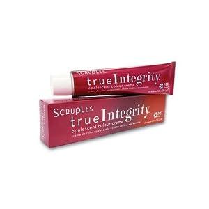 Scruples True Integrity Opalescent Colour Creme Hair Color 2.05 Oz (58.2 g) (1A Ash Black)