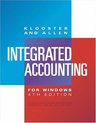 Integrated Accounting for Windows (with CD-ROM)