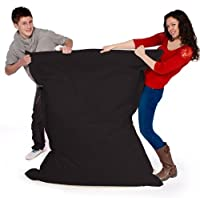 Big Brother Beanbags X-L funky bean bags, great for indoors or outdoors (BLACK) by Beautiful Beanbags