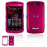 BlackBerry 9530/9500 Storm Cell Phone Rose Pink Solid Protective Case Faceplate Cover ~ Generic