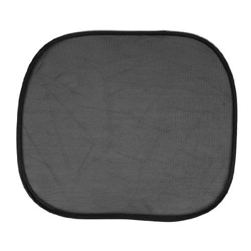 Schwarz Nylon Mesh Seitenscheibe Sonnenschutz 2 Stück für Auto Träger de