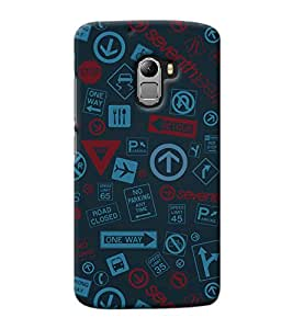Design Cafe Back Cover for Lenovo Vibe K4 Note
