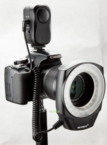 NEEWER® Macro Ring LED Light - Works with Canon/Sony/Nikon/Sigma lenses