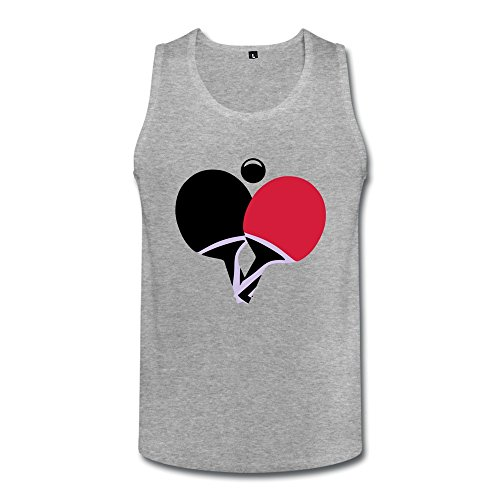 Personalize Short Sleeve Swag Table Tennis Ping Pong Men Tops front-36207
