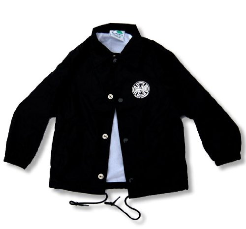 Independent Truck Co. Coach's Jacket, Black 12-18M