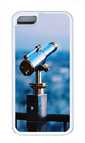 Iphone 5C Case Astronomical Telescope Tpu Iphone 5C Case Cover White
