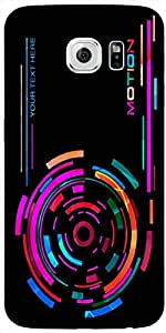 Timpax Protective Hard Back Case Cover With Easy access to all ports Printed Design : Music on the radio.For Samsung Galaxy S6 edge ( SM-G925 )