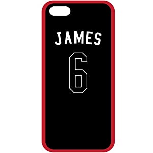 Lebron James Miami Heat iPhone 5 Hardshell +TPU Fusion Case with Gel Bumper - Tribeca by Tribeca