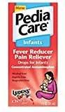 PediaCare Infant's Fever Reducer/Pain Reliever Drops, Cherry 1 fl oz (15 ml)
