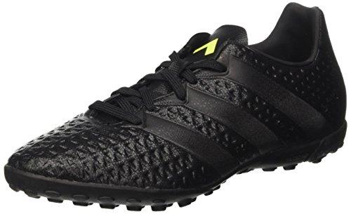 Adidas Ace 16.4 Tf, Scarpe da Calcio Allenamento Uomo, Nero (Core Black/Solar Yellow), 42 2/3 EU