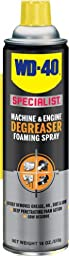 WD-40 300076 Specialist Foaming Machine and Engine Degreaser, 18 oz. (Pack of 1)