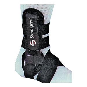 Stromgren Allsport Left Ankle Support (Black, One Size) by Stromgren