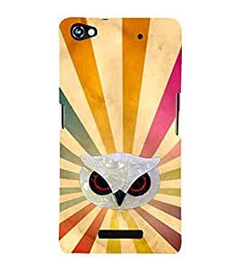 EPICCASE Shiny Angry Bird Mobile Back Case Cover For Micromax Canvas Hue 2 A316 (Designer Case)